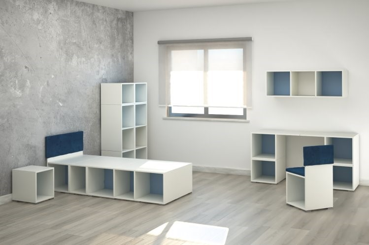 Moretti Compact Module Furniture Bedroom